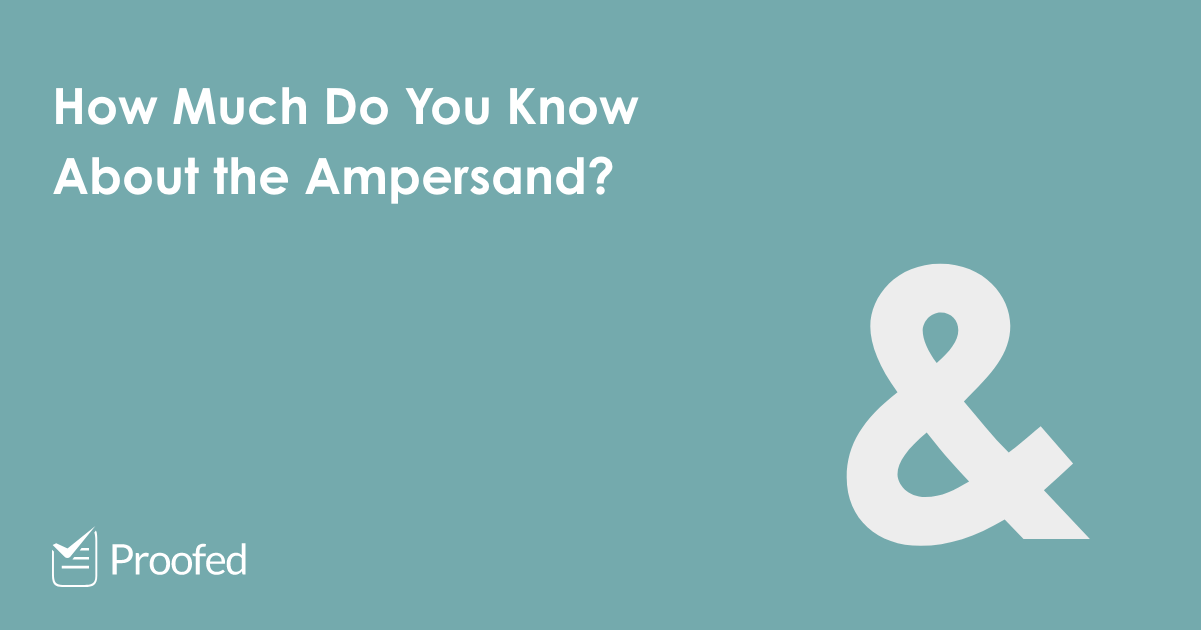A Guide to the Ampersand (&)
