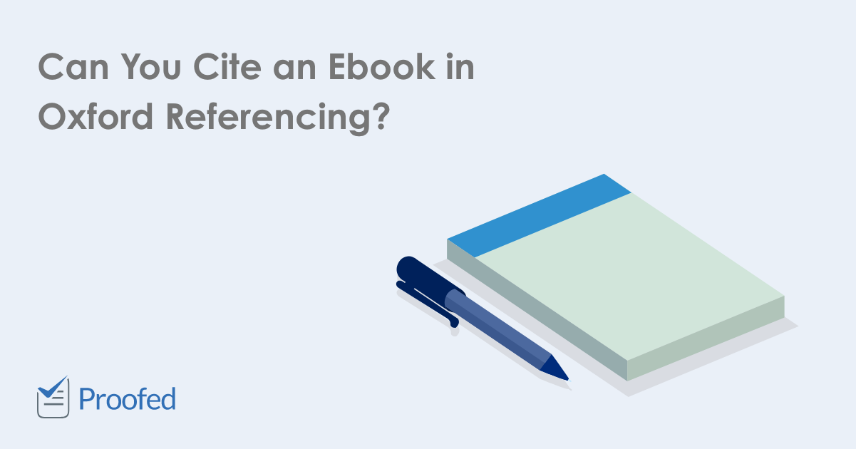 How to Cite an Ebook in Oxford Referencing