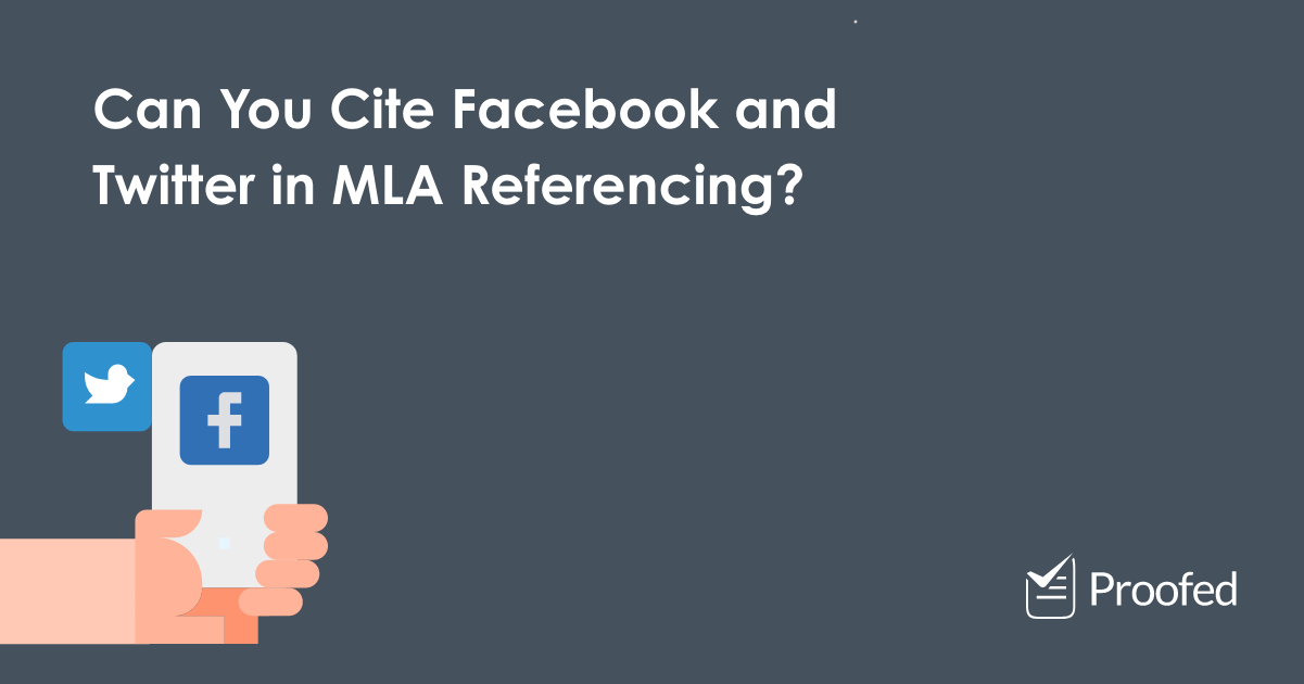 How to Cite Social Media in MLA Referencing