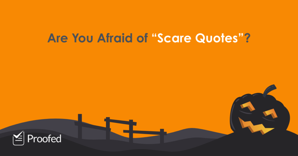 """Halloween Special How to Use """"Scare Quotes"""" - US"""