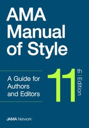 The 11th edition of the AMA Manual of Style is due in December 2019 from Oxford University Press.