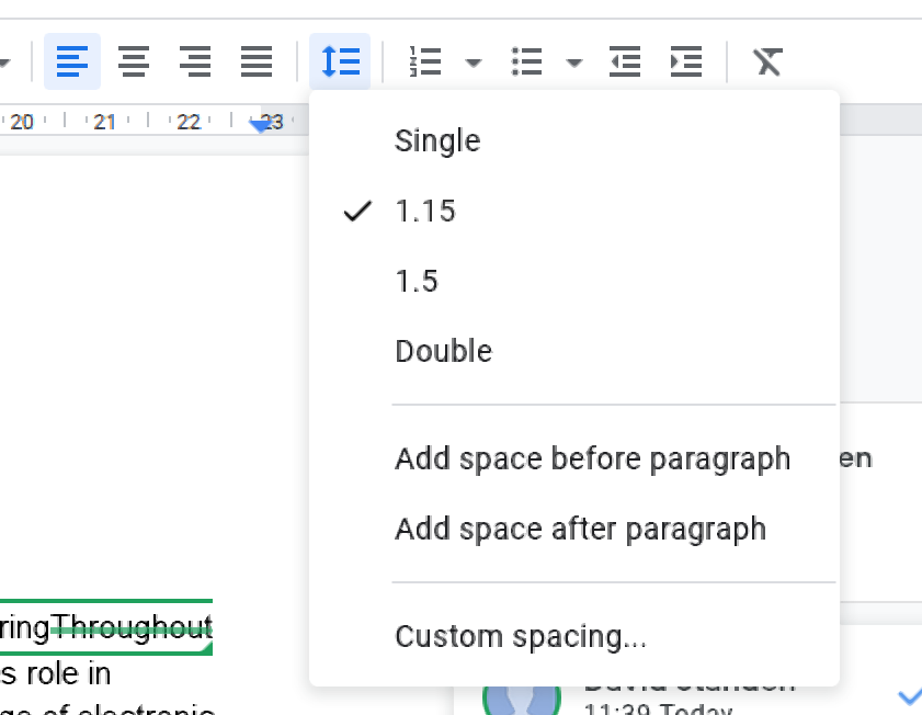 Page Layout And Text Alignment In Google Docs Proofed S Writing Tips The page breaks are distracting and mess up my formatting. text alignment in google docs