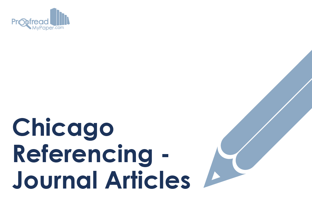 Chicago Referencing - Journal Articles
