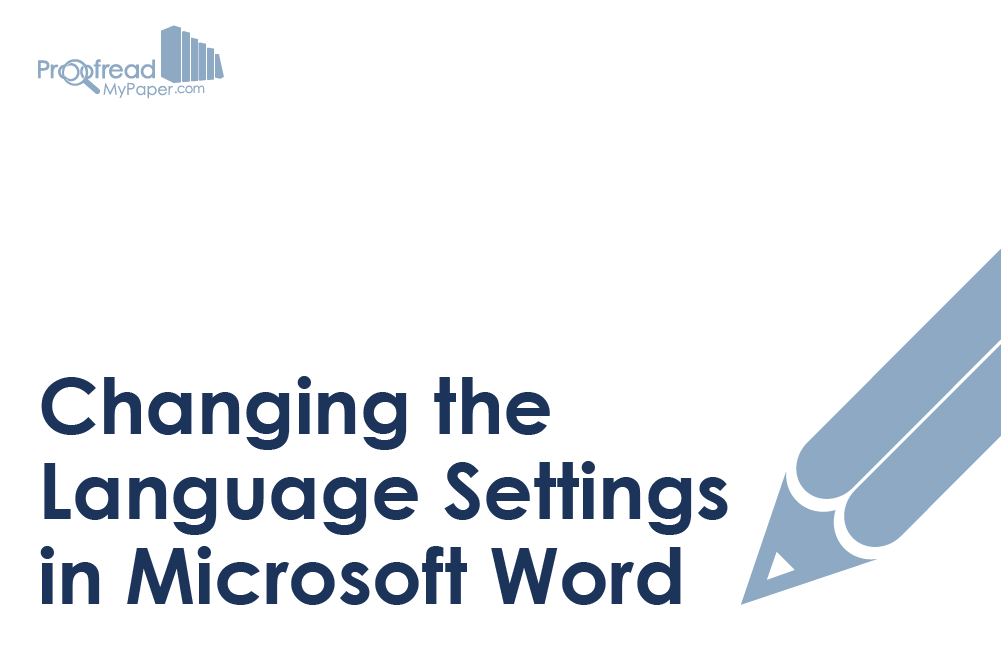 Changing the Language Settings in Microsoft Word