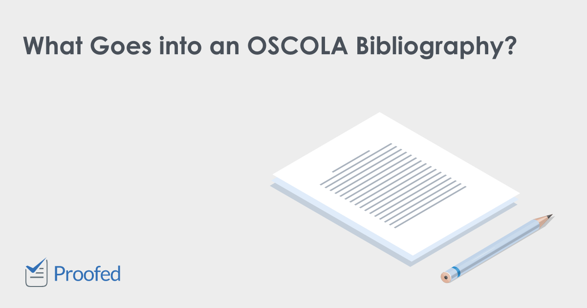 How to Format an OSCOLA Bibliography