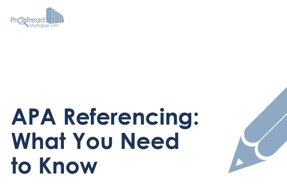 APA Referencing: What You Need to Know
