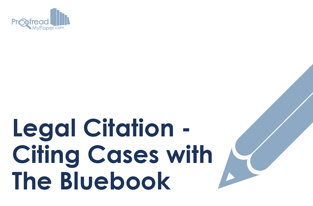 Legal Citation - Citing Cases with The Bluebook