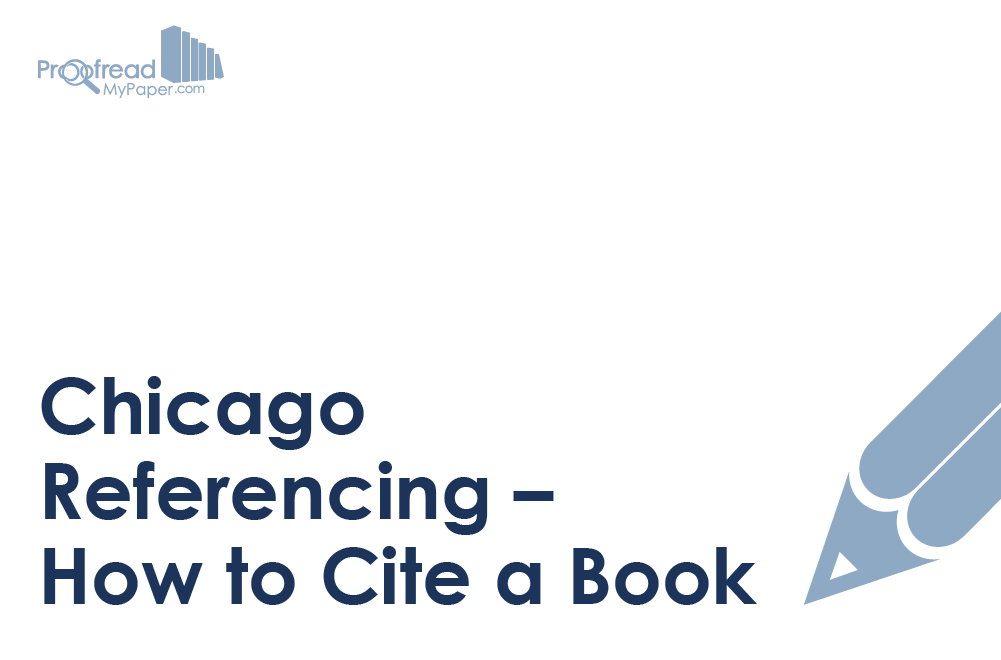 Chicago Referencing – How to Cite a Book
