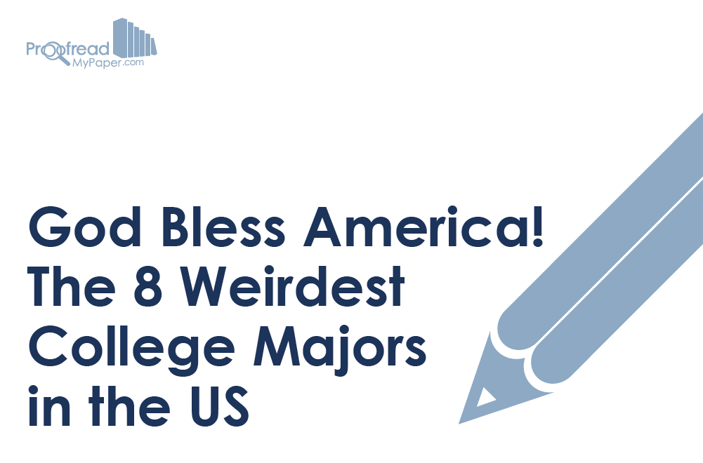 God Bless America! The 8 Weirdest College Majors in the US