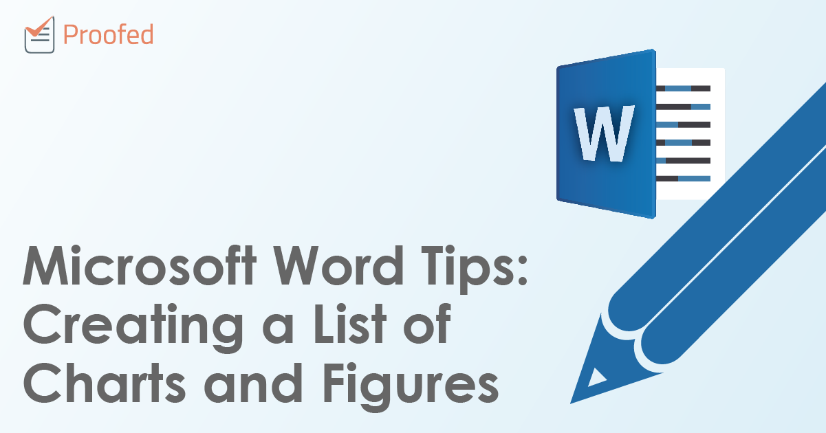Microsoft Word Tips Creating A List Of Charts And Figures