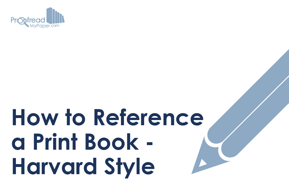 How to Reference a Print Book – Harvard Style