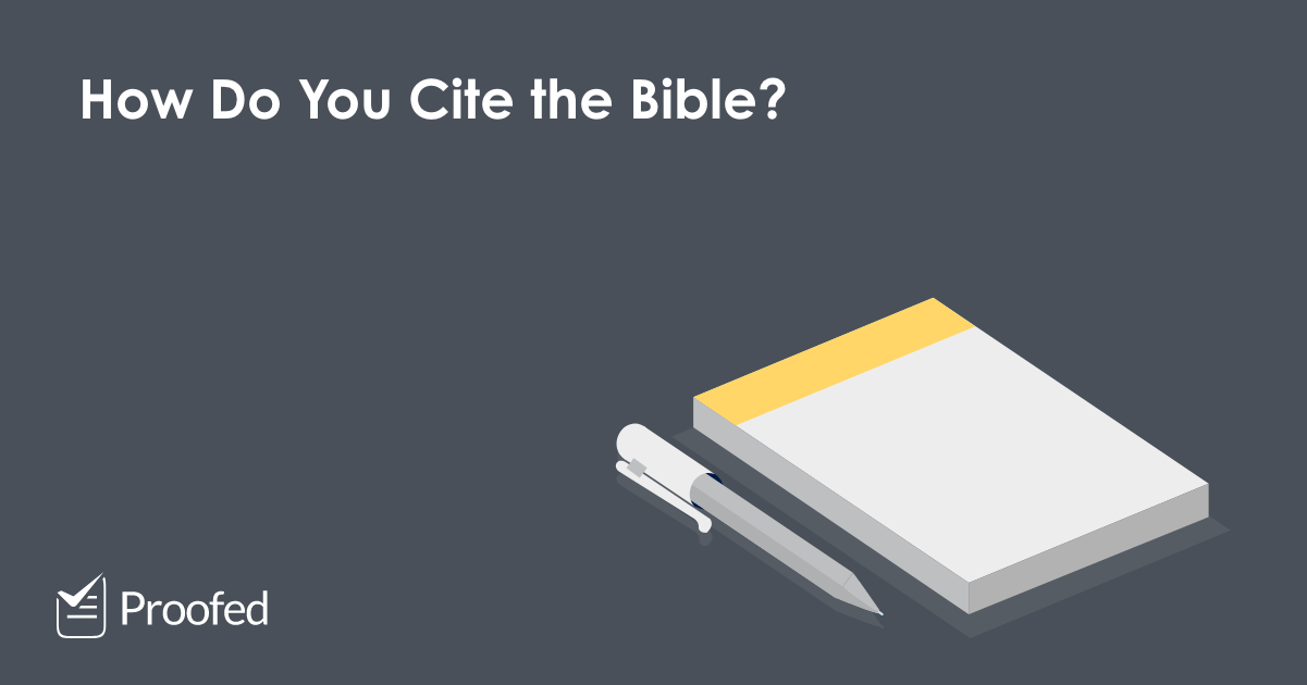 How to Cite Religious Texts in Academic Writing