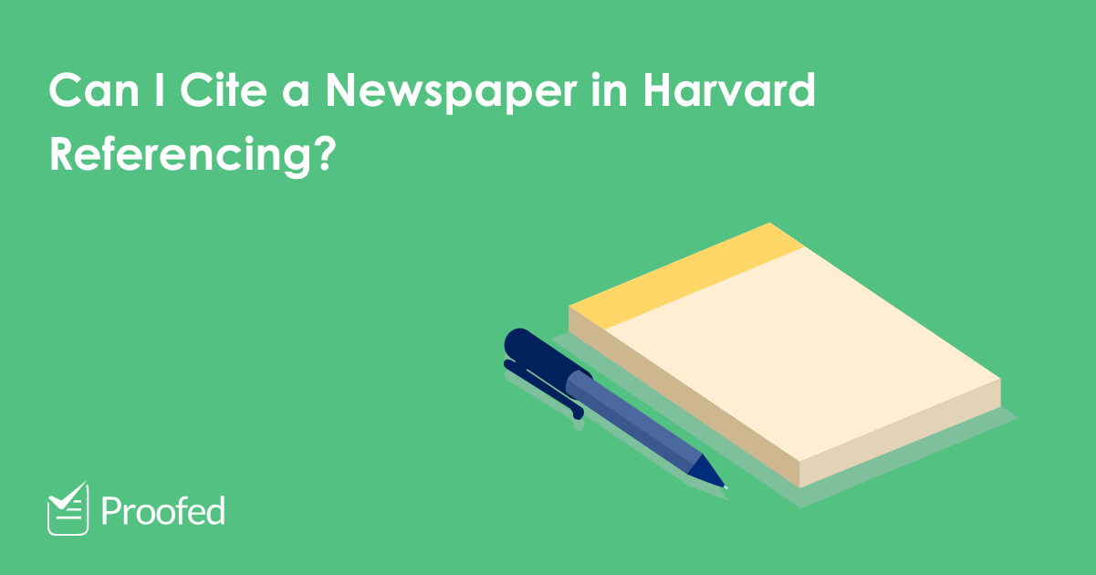 How to Cite a Newspaper Article in Harvard Referencing