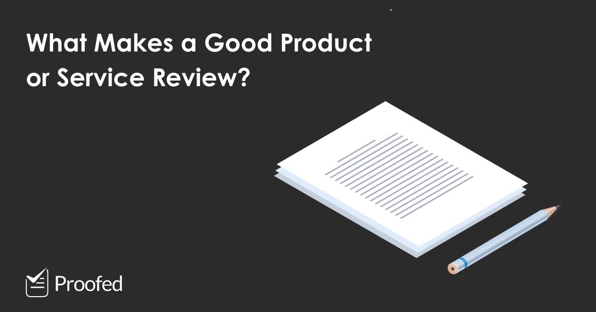 How do you write a review