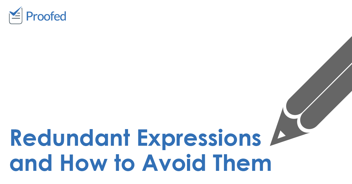 Redundant Expressions and How to Avoid Them