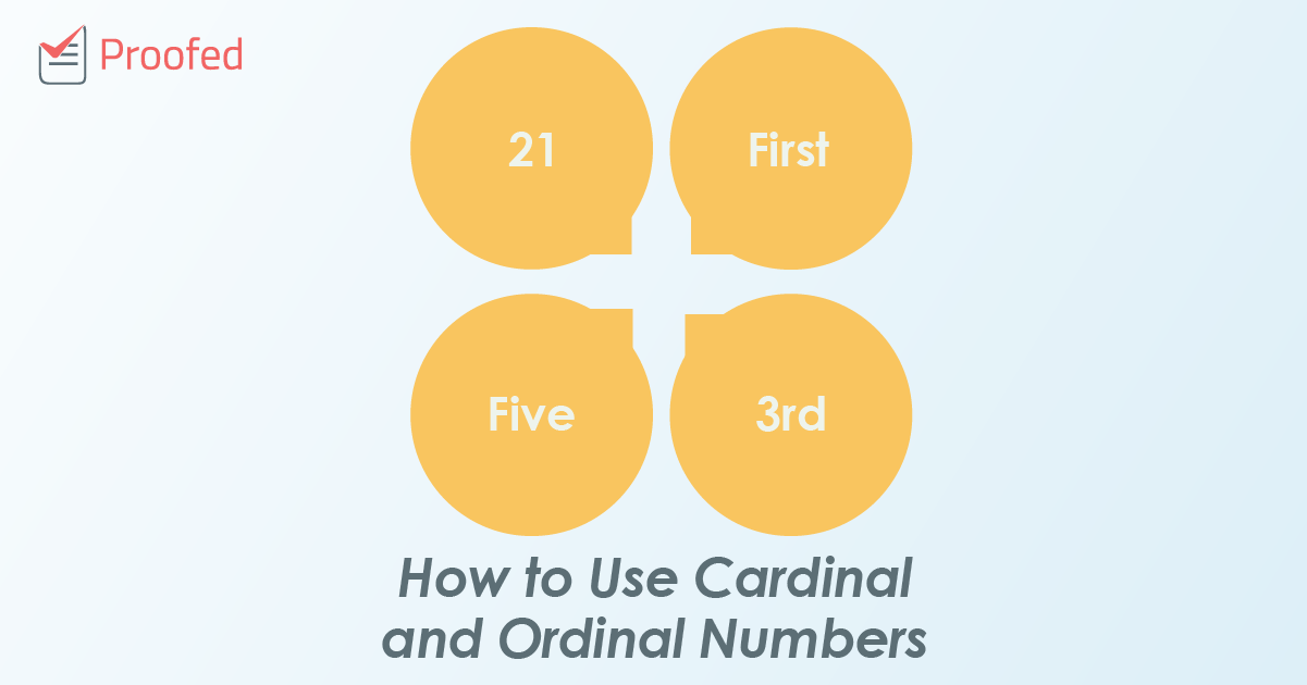 How to Use Cardinal and Ordinal Numbers