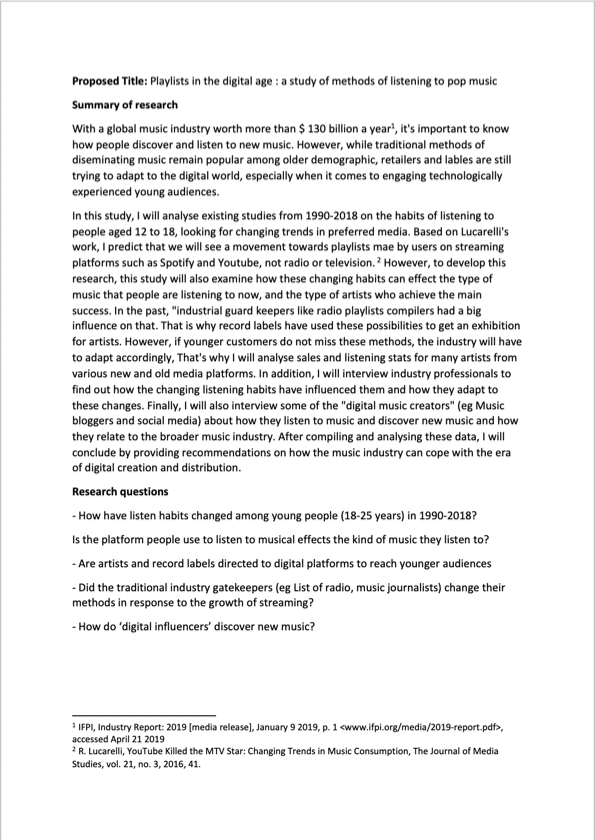 PhD proposal proofreading example (before editing)