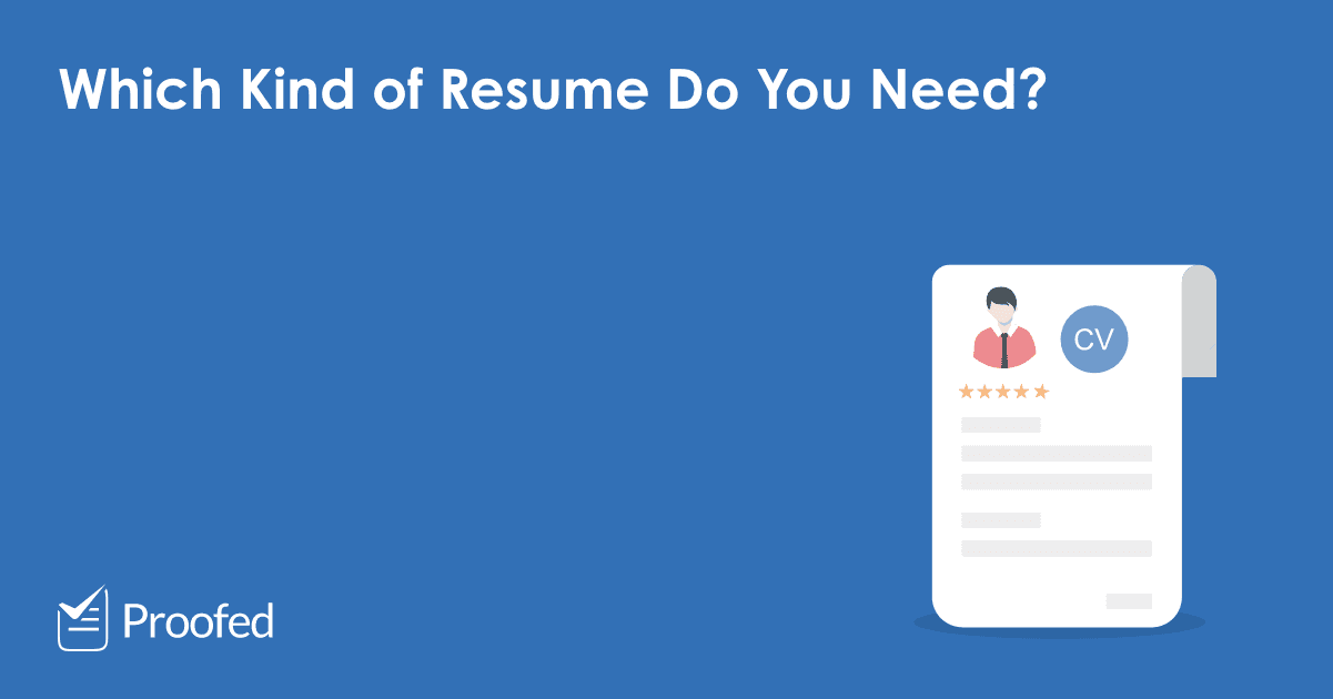 Types of Resume or CV: Chronological, Functional, and Combo – US