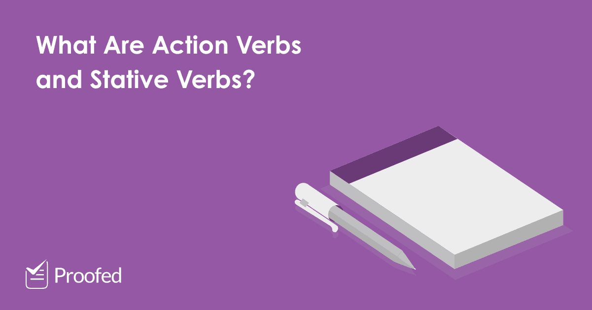 Action Verbs and Stative Verbs