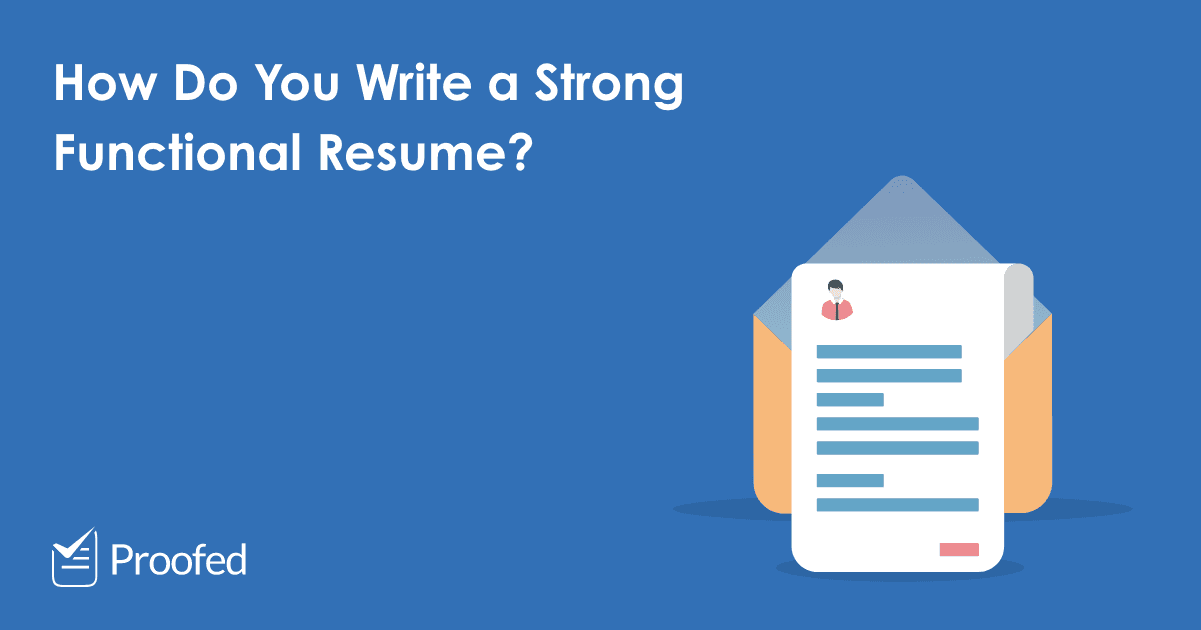 How to Write a Functional Resume or CV – US-AUS