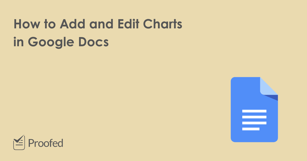 How to Add and Edit Charts in Google Docs