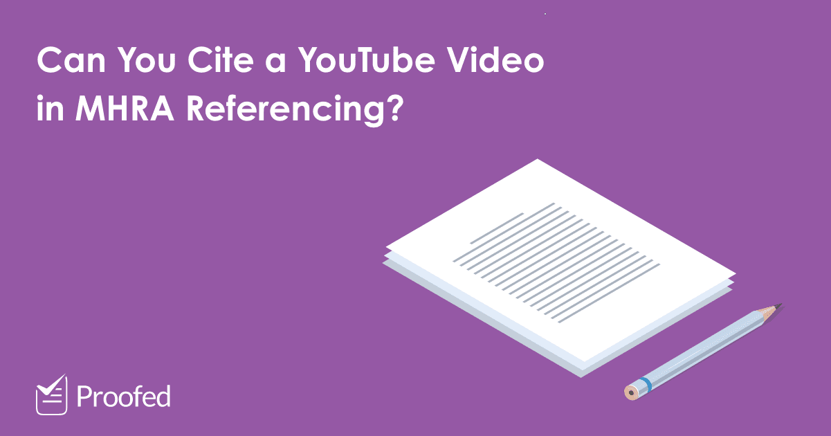 How to Cite an Online Video in MHRA Referencing