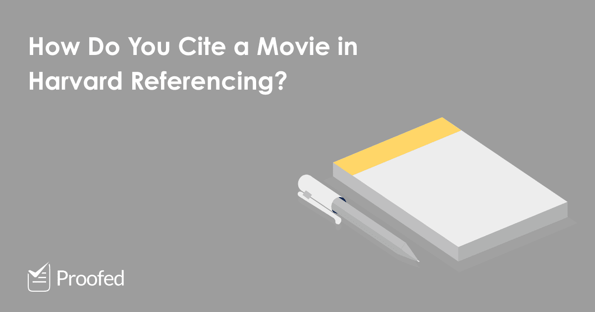 How to Cite a Movie in Harvard Referencing