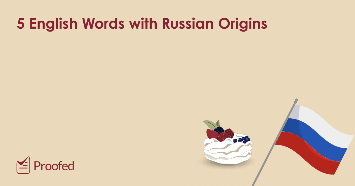 English Words with Russian Origins
