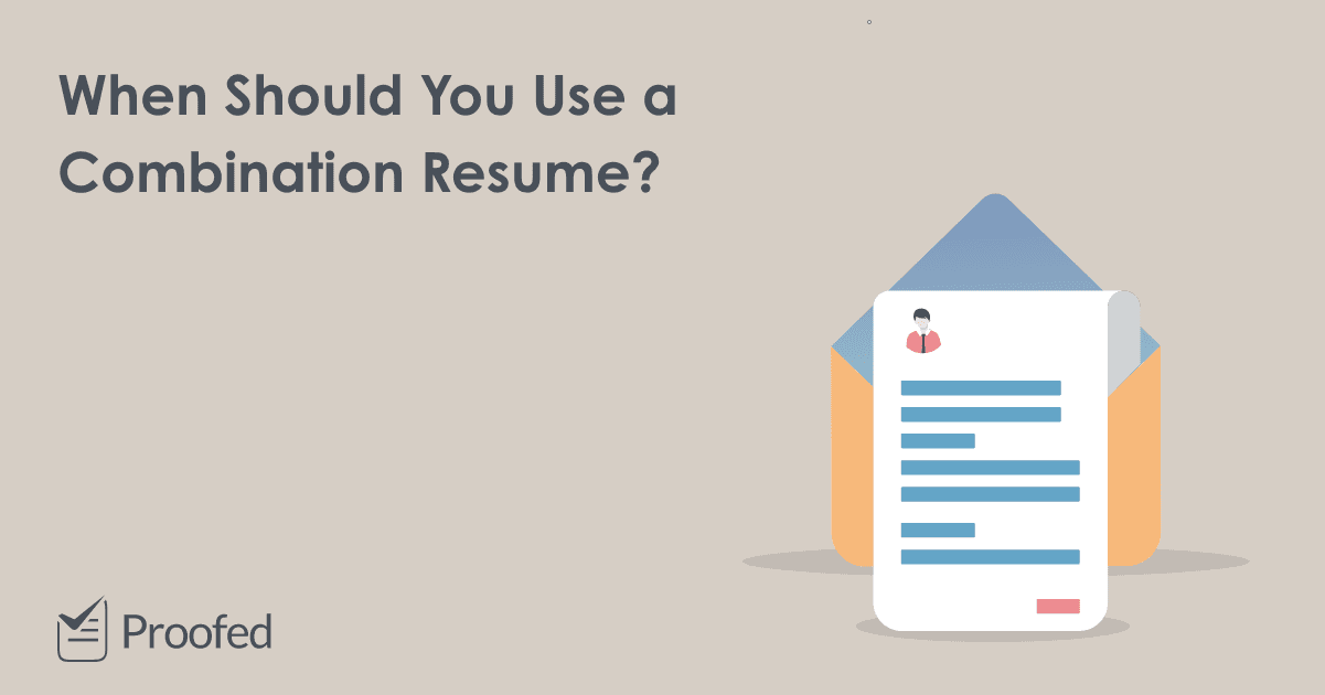How to Write a Combination Resume or CV