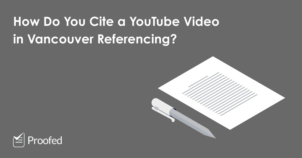 How to Cite an Online Video in Vancouver Referencing
