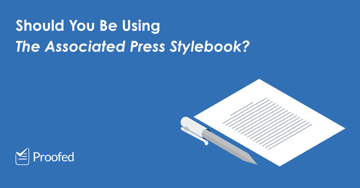 Style Guides What Is AP Style?