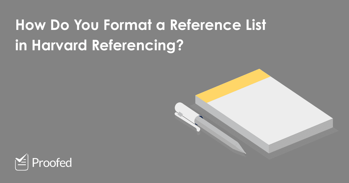 How to Format a Harvard Reference List