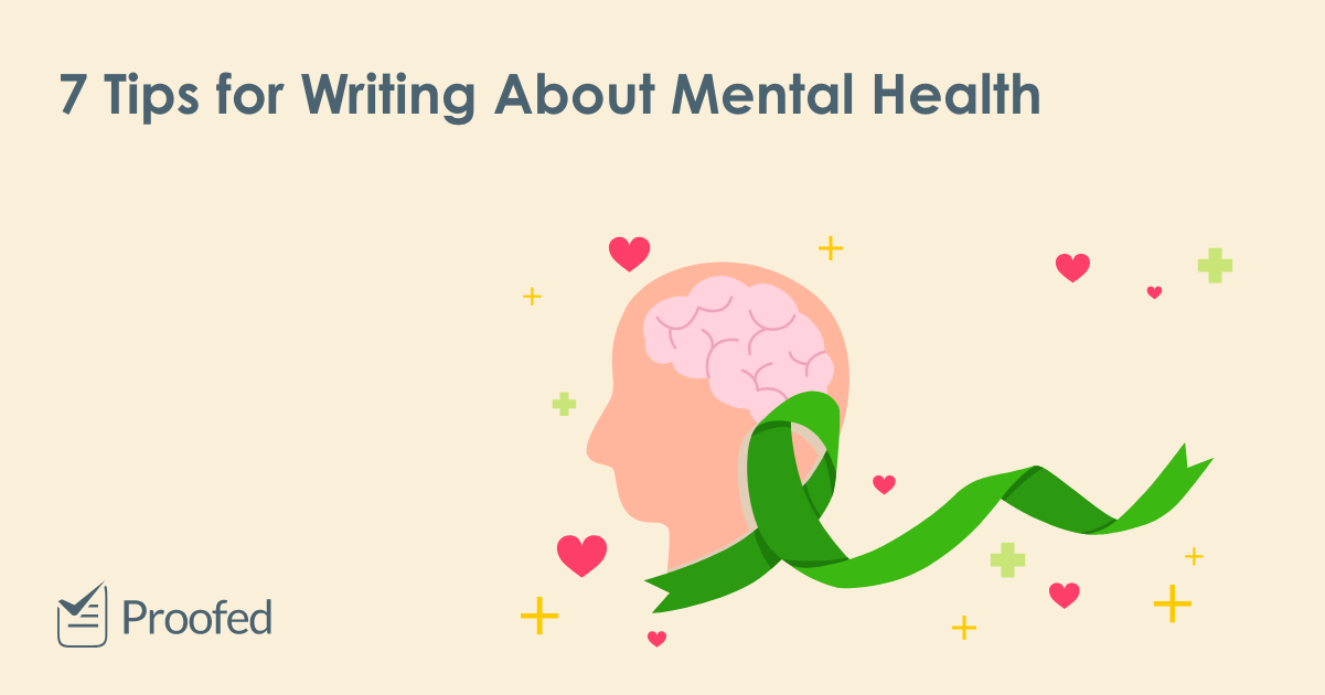 7 Tips for Writing About Mental Health
