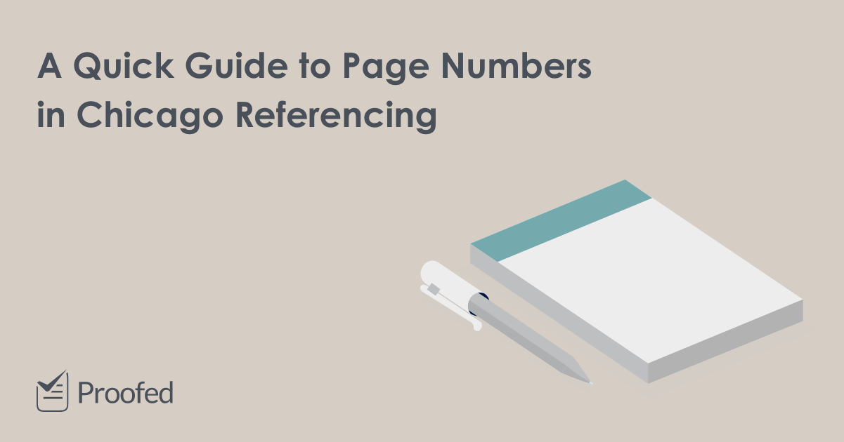 A Quick Guide to Page Numbers in Chicago Referencing