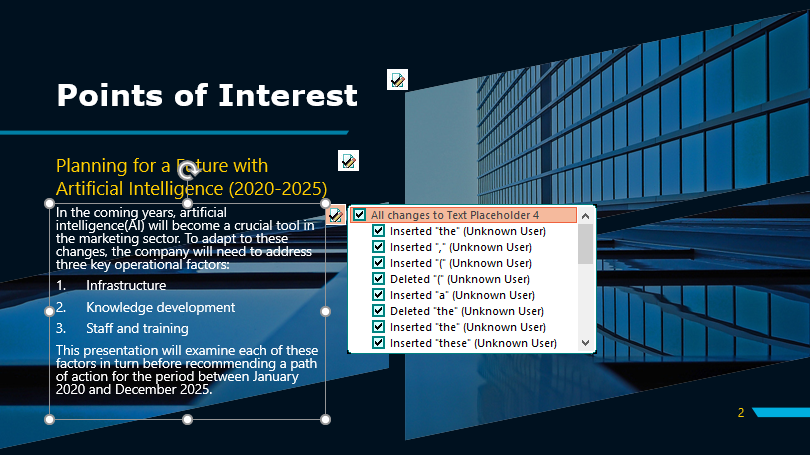 Powerpoint Proofreading Example (After Editing)
