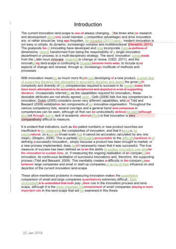 Free Proofreading Example (After Editing)