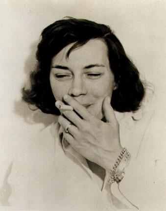 Patricia Highsmith in 1962.