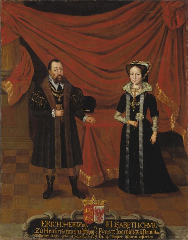 This image has an empty alt attribute; its file name is Portraits_of_Duke_Erik_I_of_Brunswick-Calenberg_and_Duchess_Elisabet_Princess_of_Brandenburg_-_Nationalmuseum_-_15276.tif.jpg